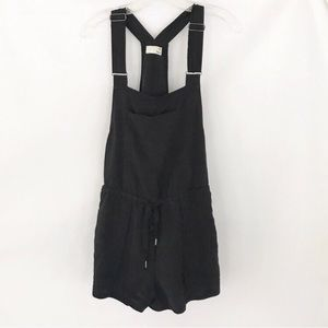 Wilfred black overall w shorts XS
